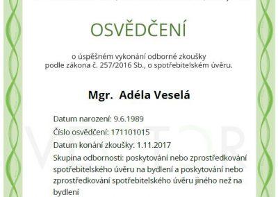 Adela.vesela.certifikat