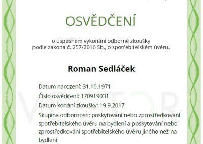 Roman.sedlacek.certifikat