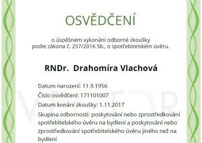 Drahomira.vlachova.certifikat